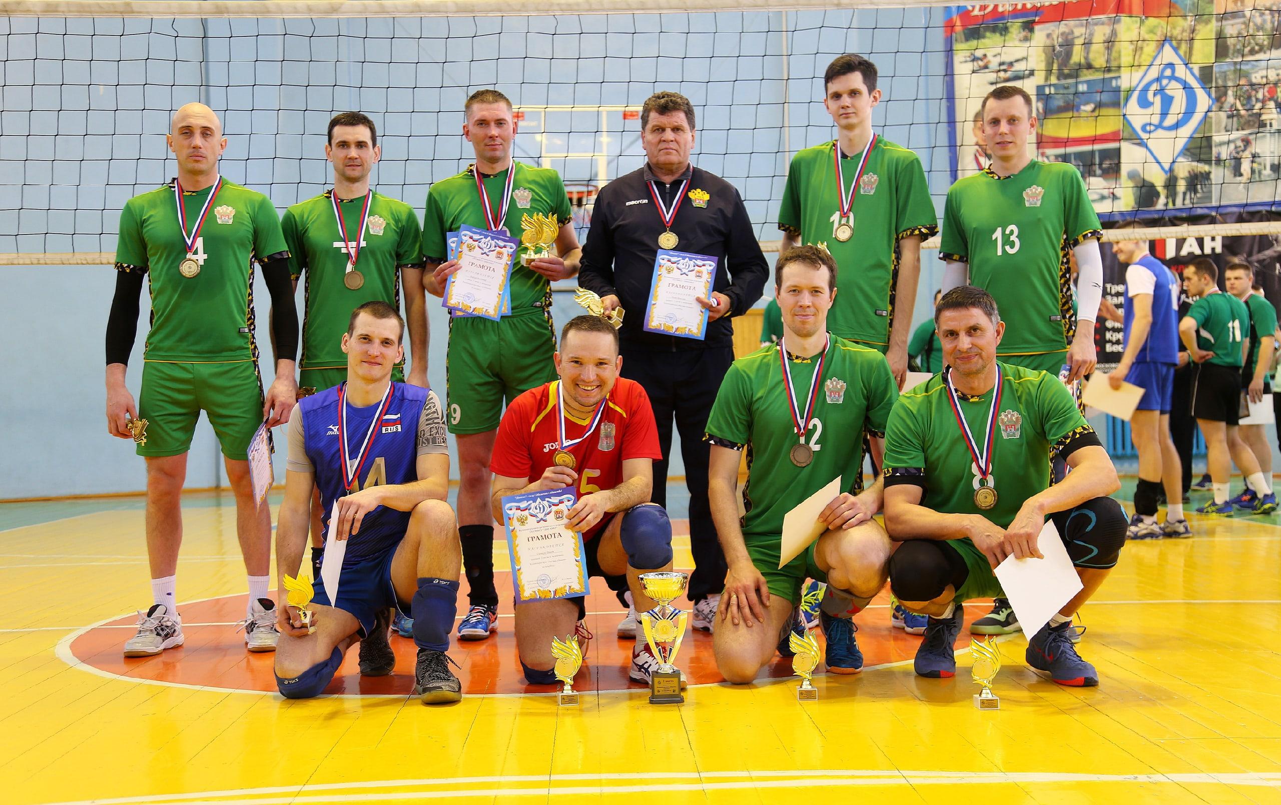 Команды силовых  ведомств региона сыграли в волейбол