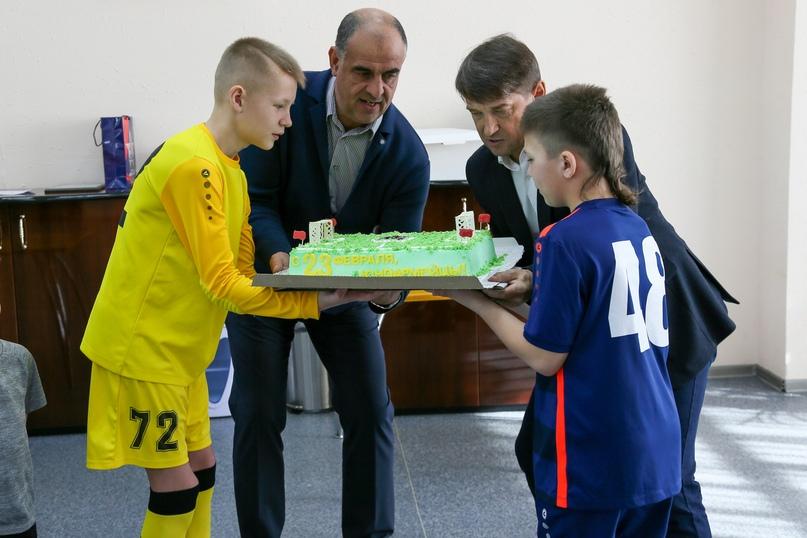 СКА-Хабаровск-2008» посвятили в юные армейцы, изображение №5